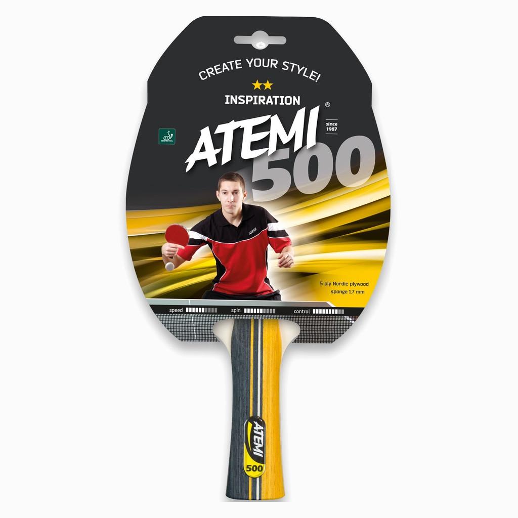 Ракетка для настольного тенниса Atemi 500C Inspiration (10041)