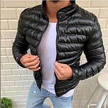 😜 Куртка - Мужскаяя теплая куртка черная, фото 3