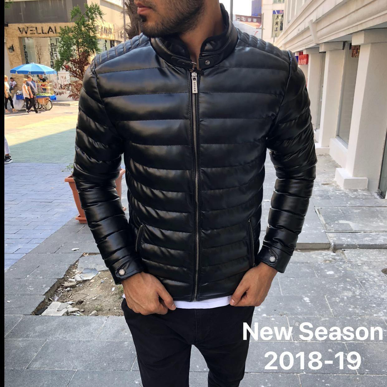 😜 Куртка - Мужскаяя теплая куртка черная