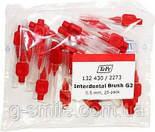 Межзубные ершики TePe ID Bürste Rot 0.5mm ( 25 шт)