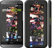 """Чехол на HTC One M8 dual sim Marvel v2 """"2826c-55"""""""