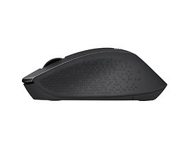 Миша бездротова Logitech m330 Silent Plus Wireless Black USB, Колір Чорний / безшумне натискання, фото 2