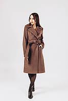 Пальто на осень цвета кофе O.Z.Z.E Д 378