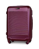 Чемодан Fly 1093 средний 65х47х27 см 58 л на 4 колесах Темно-фиолетовый