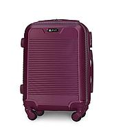 Чемодан Fly 1093 мини 52х37х20 см Ручная кладь на 4 колесах Темно-фиолетовый