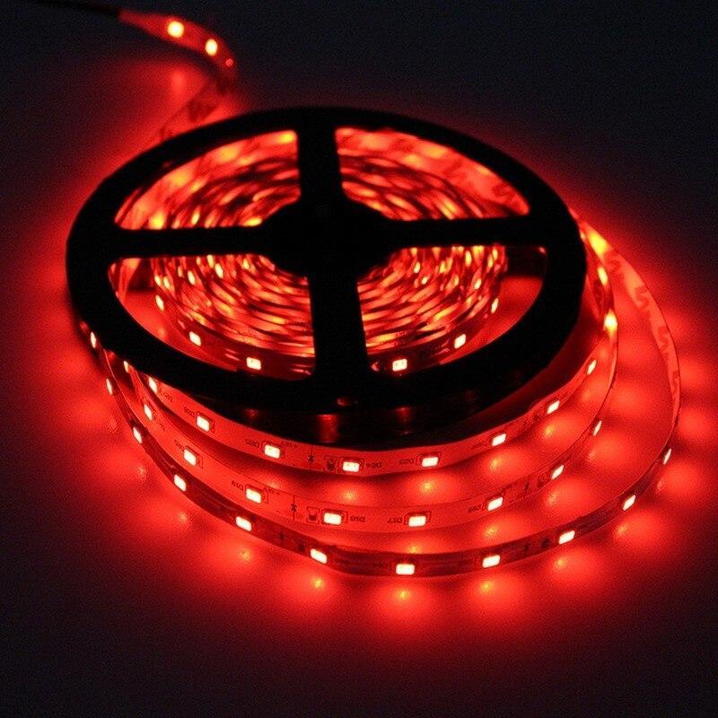 LED лента СТАНДАРТ 60Led/m SMD2835 4,8W/m 12V IP20 Красный *АКЦИЯ!!!*