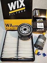 Набор для ТО Сенс 1.3/1.4 (МеМЗ) фильтров воздушный масляный топливный WIX