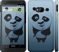"""Чехол на HTC One M7 Кунг-фу Панда """"759c-36"""""""