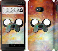 "Чехол на HTC One M7 Adventure Time. Jake v2 ""1204c-36"""