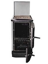 Двухконтурный твердотопливный котел Житомир АКТВ-14В с плитой