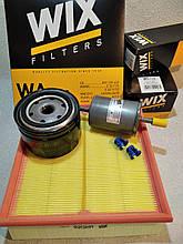 Набор для ТО ВАЗ 2109, 2110, 2172, 1118 фильтров воздушный масляный бензиновый WIX