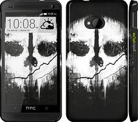 "Чехол на HTC One M7 Call of Duty череп ""150c-36"""