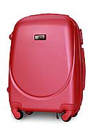 Чемодан Fly К310 малый 55х37х23 см Ручная кладь на 4 колесах Темно-розовый, фото 1