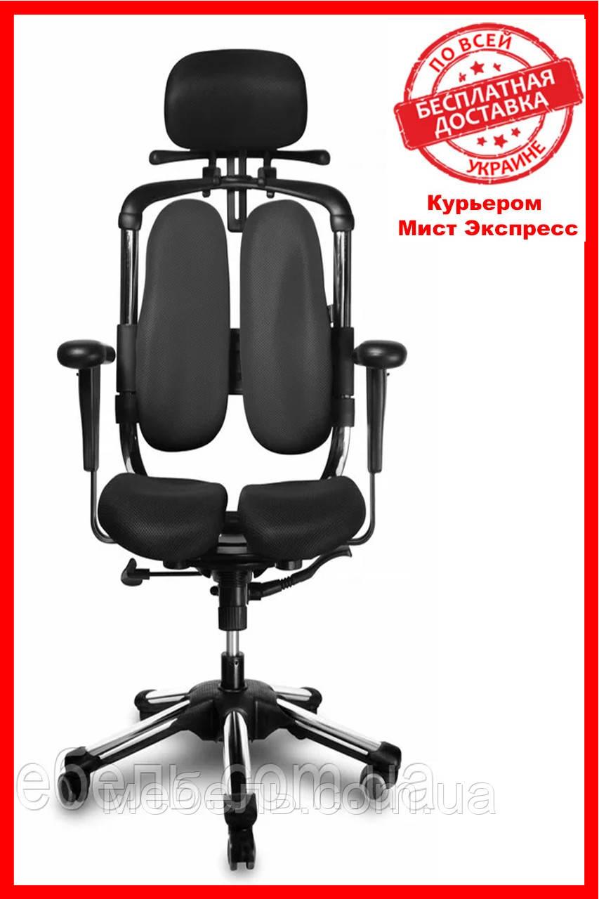 Офисное кресло Barsky BHN-01 Hara Nietzsche, черное, с вешалкой для одежды