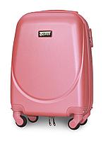 Чемодан Fly К310 мини 51х35х20 см Ручная кладь на 4 колесах Розовый, фото 1