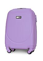 Чемодан Fly К310 мини 51х35х20 см Ручная кладь на 4 колесах Светло-фиолетовый