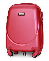 Чемодан Fly К310 мини 51х35х20 см Ручная кладь на 4 колесах Темно-розовый, фото 1
