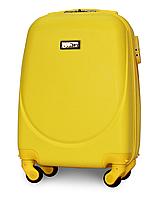 Чемодан Fly К310 мини 51х35х20 см Ручная кладь на 4 колесах Желтый, фото 1
