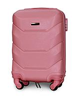 Чемодан Fly К147 мини 53х33х19 см Ручная кладь на 4 колесах Розовый, фото 1