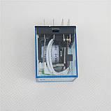 Реле 12В с клеммной колодкой на DIN-рейку / нагрузка 10А при 250В, фото 2