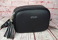 Женская сумка через плечо. Небольшая сумочка, клатч на 2 молнии. КС115, фото 1