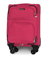 Чемодан Fly 6802 мини 46х32х20 см Ручная кладь на 4 колесах Розовый, фото 1