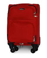 Чемодан Fly 6802 мини 46х32х20 см Ручная кладь на 4 колесах Красный, фото 1