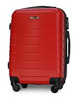 Чемодан Fly 1107 малый 55х39х22 Ручная кладь на 4 колесах Красный