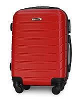 Чемодан Fly 1107 мини 49х33х20 см Ручная кладь на 4 колесах Красный, фото 1