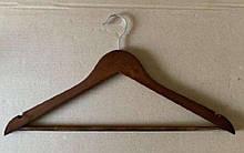 Набор деревянных вешалок WH-W6  6шт/пак цвет орех WERK