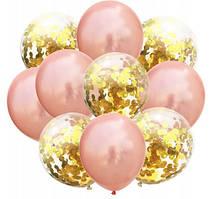 Набір повітряних кульок на Новий рік 010 (30 см - 10 шт)