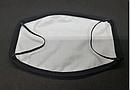 Защитная маска многоразовая с рисунком Губы вампира с принтом ORIGINAL хлопок (Двухслойная), фото 3