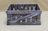 Ящик декоративный ДЯБ-2   КОРИЧНЕВО-БЕЛЫЙ (большой, прямоугольный)