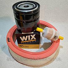 Набор для ТО ВАЗ 2101, 2103, 2107 Жигули, Нива фильтров воздушный масляный бензиновый WIX