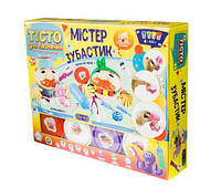 "Набор для лепки ""Мистер Зубастик"", Окто, наборы для творчества,детский пластилин,тесто для лепки"