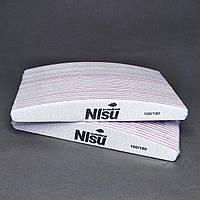 Пилки для ногтей 100/180 NIsu Professional 50 шт