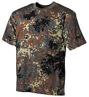 Камуфляжная футболка Flecktarn Германия (флектарн)