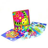 """Мозаика """"Цветная фантазия"""", Fun Game, Мозаика для самых маленьких,Игра мозаика для детей,Мозаика детская"""