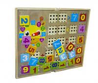 """Игра """"Счеты + Мозаика"""", Руди, обучающие игрушки,наборы для творчества,набор"""