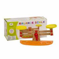 Деревянные весы с гирьками, Руди, обучающие игрушки,наборы для творчества,набор