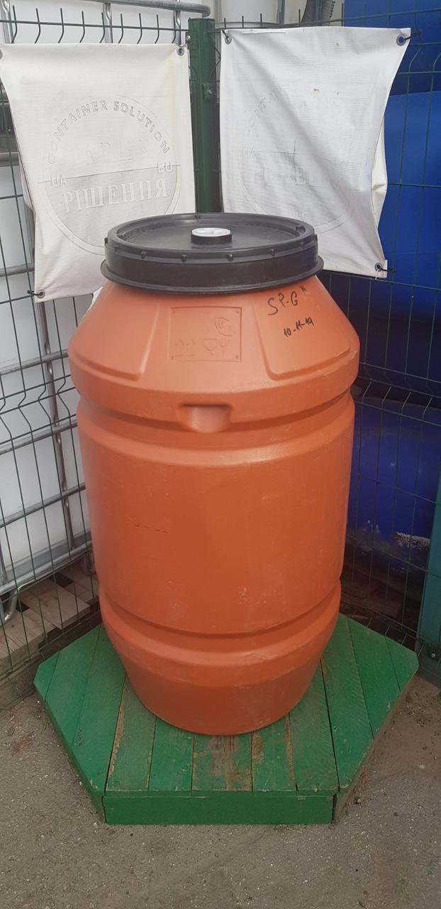 0240-34/1: С доставкой в Луганскую область ✦ Бочка (200 л.) б/у пластиковая
