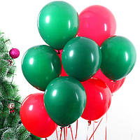 Набір повітряних кульок на Новий Рік 07 (25 см - 21 шт)