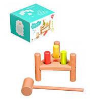 """Стучалка """"Гвозди перевертыши"""", Lucy&Leo, обучающие игрушки,наборы для творчества,набор"""