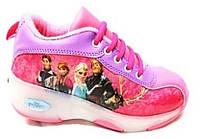 Детские кроссовки на роликах (размер 34-35) SL-12633435