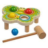 """Стучалка """"Бабочка"""", Lucy&Leo, обучающие игрушки,наборы для творчества,набор"""
