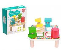 """Деревянный сортер """"Квадрат"""", Lucy&Leo, игрушки для малышей,сотер,деревянные игрушки"""