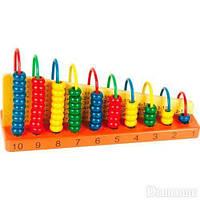 """Обучающая игра """"Арифметический счет"""", обучающие игрушки,наборы для творчества,набор,viga toys"""