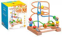 Лабиринт пальчиковый №3, деревянные игрушки,деревянные игрушки развивающие,сотер,игрушки для малышей