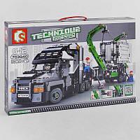 Конструктор Машина з маніпулятором для дітей від 8 років, 1202 дет. Дитячий набір Вантажівка