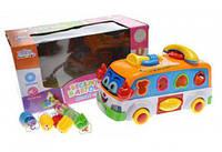 "Сортер ""Автобус"", игрушки для малышей,сотер,деревянные игрушки,деревянный конструктор"